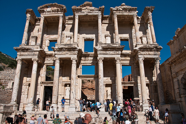 Library of Celsus ruins - Turkey - Image by photo-gator