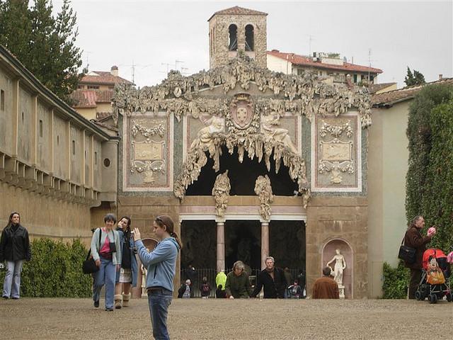Palazzo Pitti - italy by xiquinhosilva